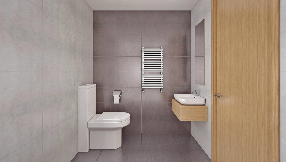 Siseviimistlus KÜLM, tualett