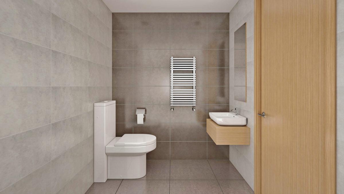 Siseviimistlus SOE, tualett